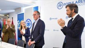Alfonso Alonso dimiteix com a president del PP basc