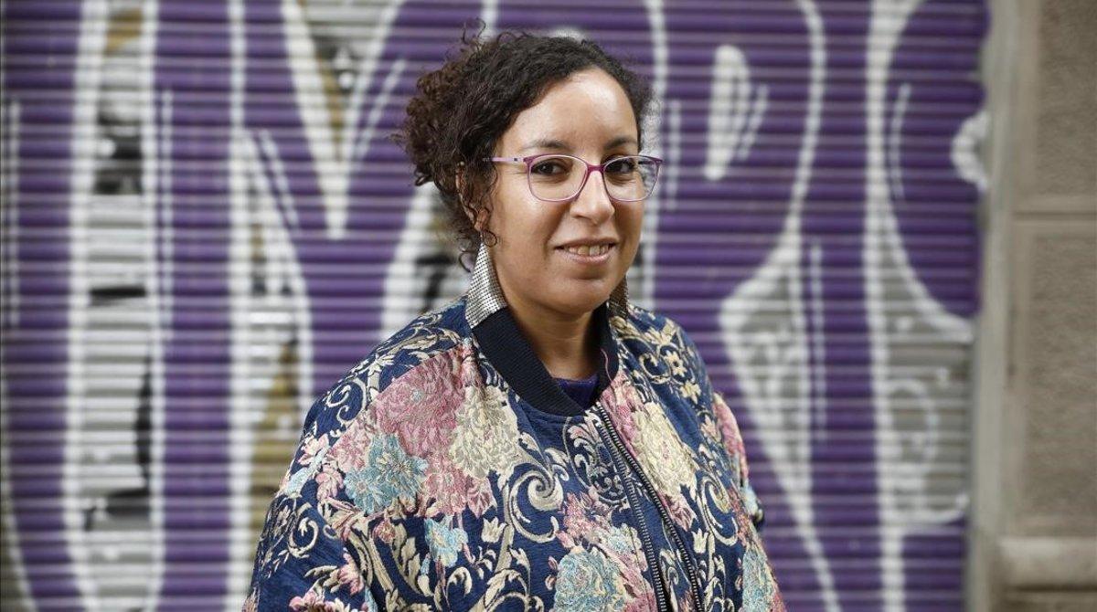 Najat El Hachimi, autora de 'Siempre han hablado por nosotras'.