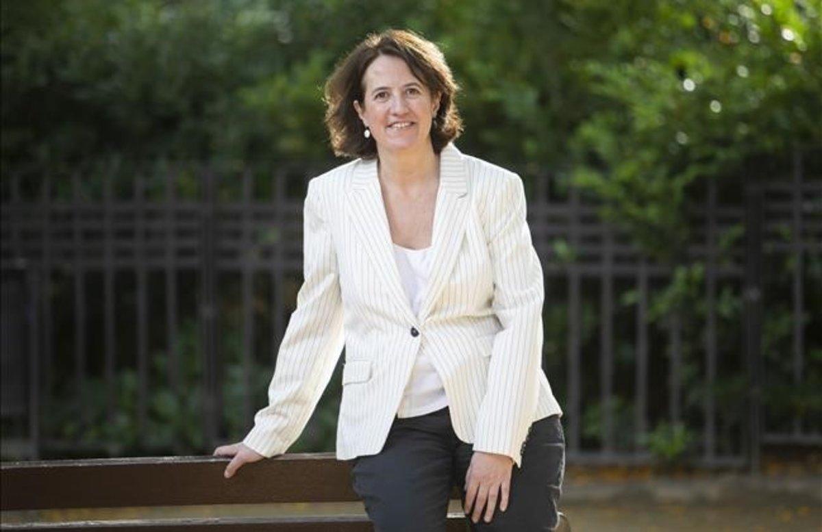 La presidenta de la Assemblea Nacional Catalana (ANC), Elisenda Paluzie.
