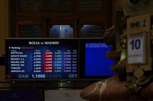 L'Ibex perd un 2,29% arrossegat per la banca