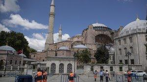 Santa Sofia tornarà a ser una mesquita