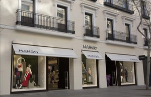 MANGO en la exclusiva calle Serrano de Madrid