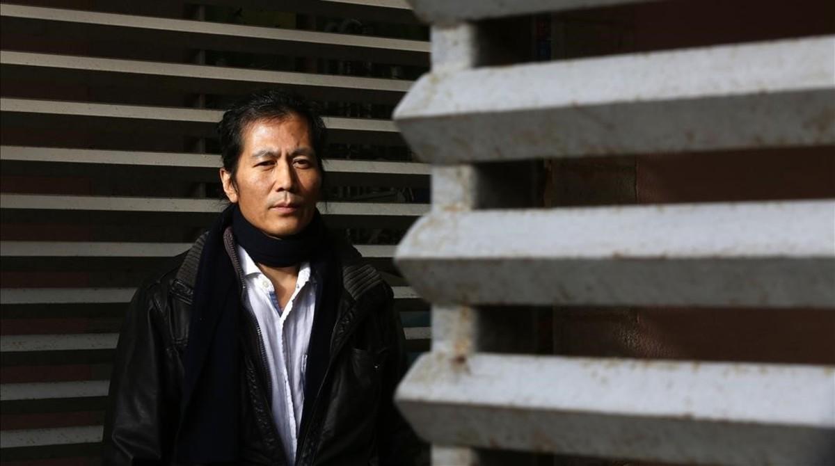 zentauroepp41931245 barcelona 06 02 2018 entrevista al filosofo coreano byung c180206193439