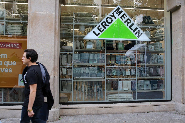 La tienda de Leroy Merlin en la calle de Fontanella de Barcelona