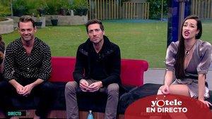 Antonio David, Hugo Castejón y Adara en 'GH VIP'.