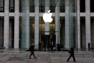 Imagen de la tienda de Apple en la Quinta Avenida de Nueva York