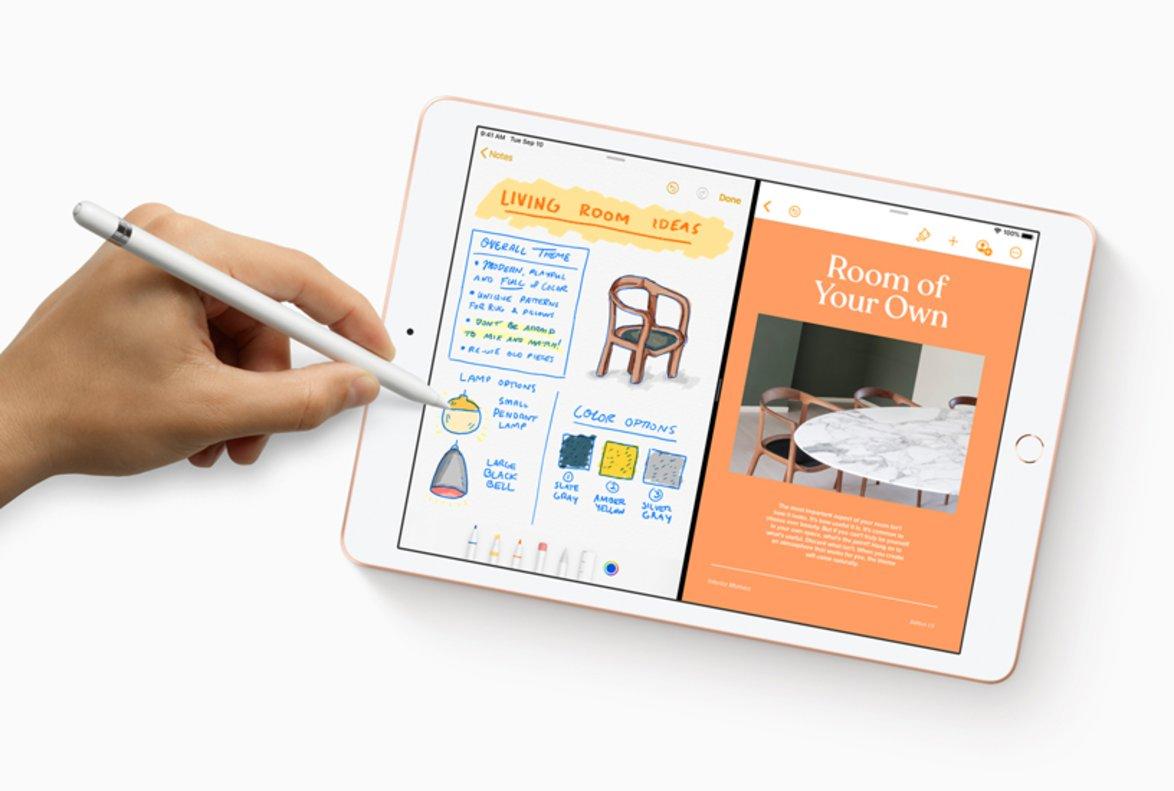 Nueva generación de iPad de Apple.