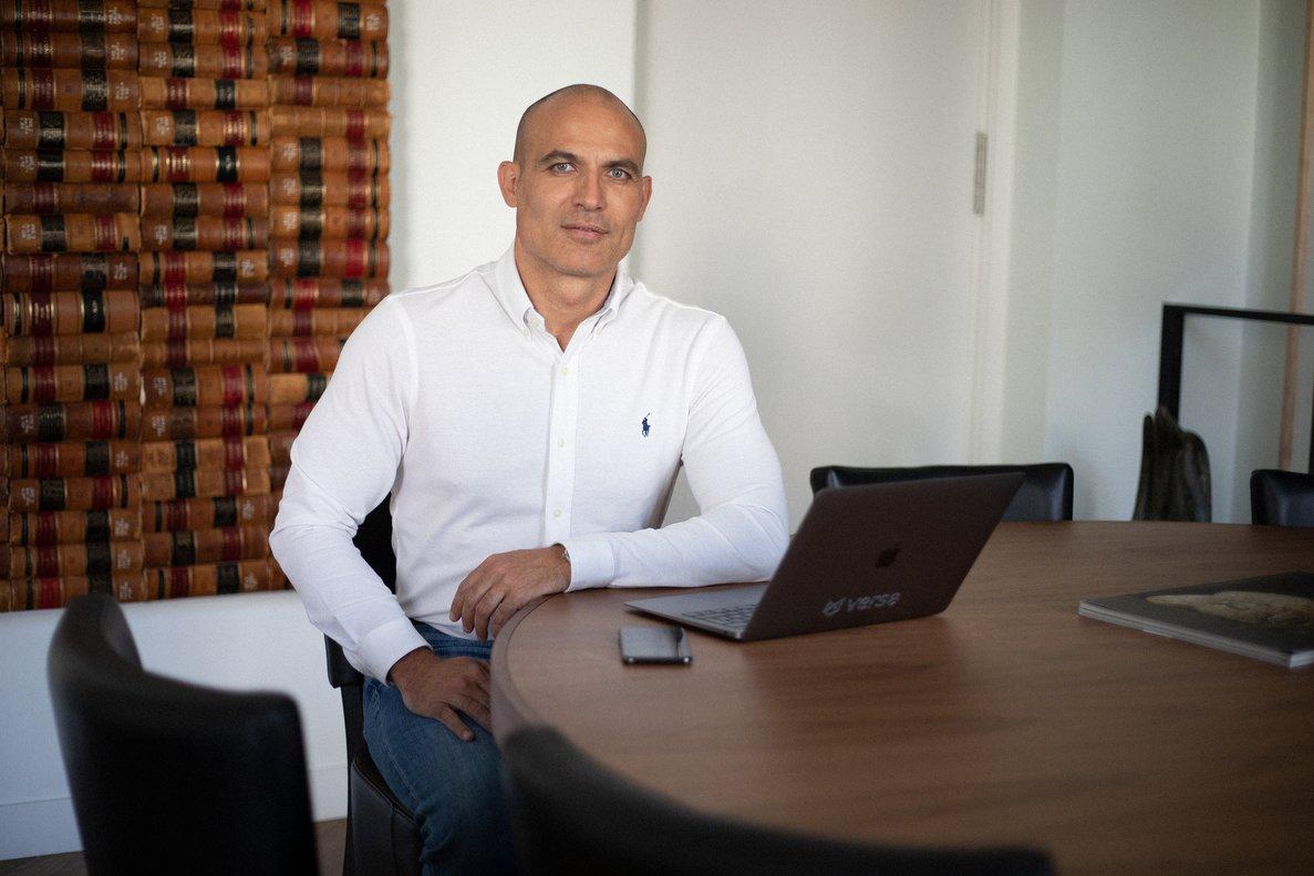 Bernardo Hernández fundó Idealista en el año 2000, su primera empresa