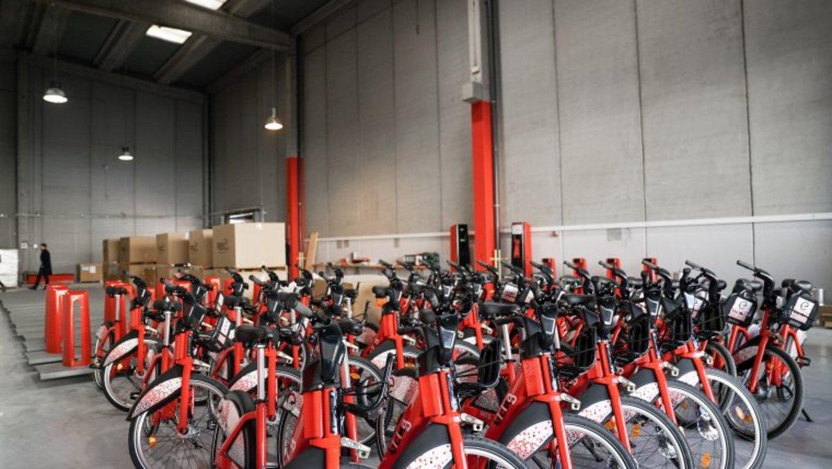 Nuevo modelo de bicicletas Bicing.