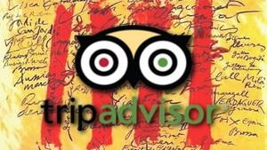 Imagen de la petición en Change.org TripAdvisor: permitan el uso del catalán para escribir reseñas y opiniones.