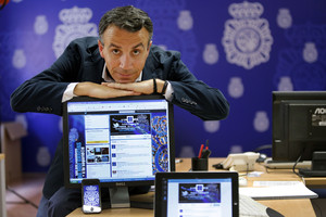 Carlos Fernández Guerra. Social Media Manager (responsable de Xarxes Socials) de la Policia Nacional.