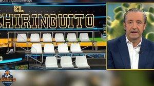 """'El Chiringuito' de Pedrerol impide la entrada de público al plató por el coronavirus: """"Nos sabe mal"""""""