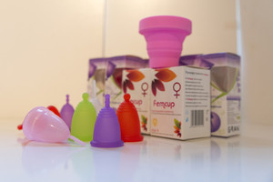 La copa menstrual, productocada vez más usado.