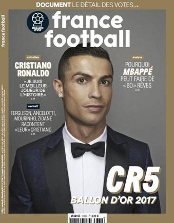 La portada de France Football.