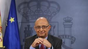 El exministro de Hacienda Cristóbal Montoro, impulsor de la amnistía fiscal del PP.