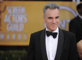 FILE- In this Jan. 27, 2013, file photo, Daniel Day-Lewis arrives at the 19th Annual Screen Actors Guild Awards at the Shrine Auditorium in Los Angeles. Day-Lewisâ¿¿s representative, Leslee Dart, said in a statement Tuesday, June 20, 2017, that the 60-year-old performer â¿¿will no longer be working as an actor.â¿¿ She added that Day-Lewis is â¿¿immensely grateful to all of his collaborators and audiences over the many years.â¿¿ (Photo by Chris Pizzello/Invision/AP, File)