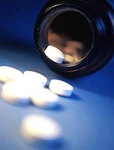 Un bote de pastillas.