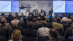Acto de prsentación del chequeo semestral de la asociación AVE al estado del Corredor del Mediterráneo