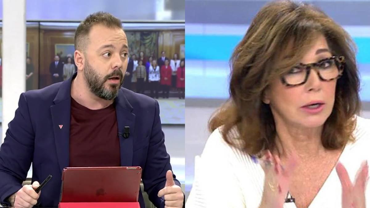 "Antonio Maestre se revuelve contra Ana Rosa por no frenar a Isabel San Sebastián: ""Aguanta que yo responda"""