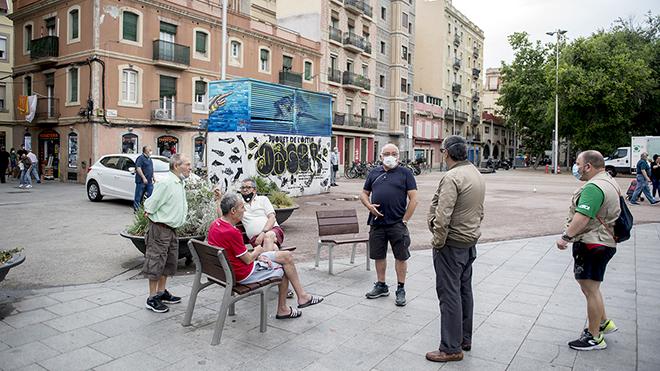 Érase una vez en la Barceloneta en estado de alarma.
