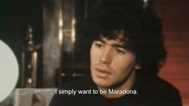 Estrenos de la semana. Tráiler de 'Diego Maradona'.