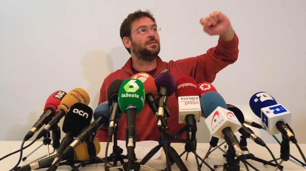 Ha dimitido como secretario general de Podem Catalunya y como militante.