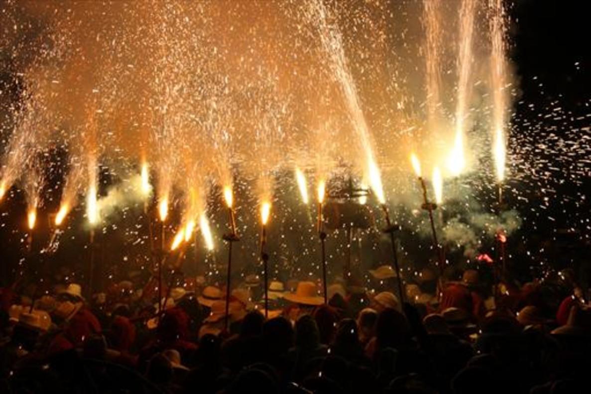 La fiesta del Aquelarre de Cervera congrega a unas 25.000 personas.