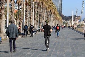 Els Mossos investiguen una agressió sexual al passeig Marítim de Barcelona