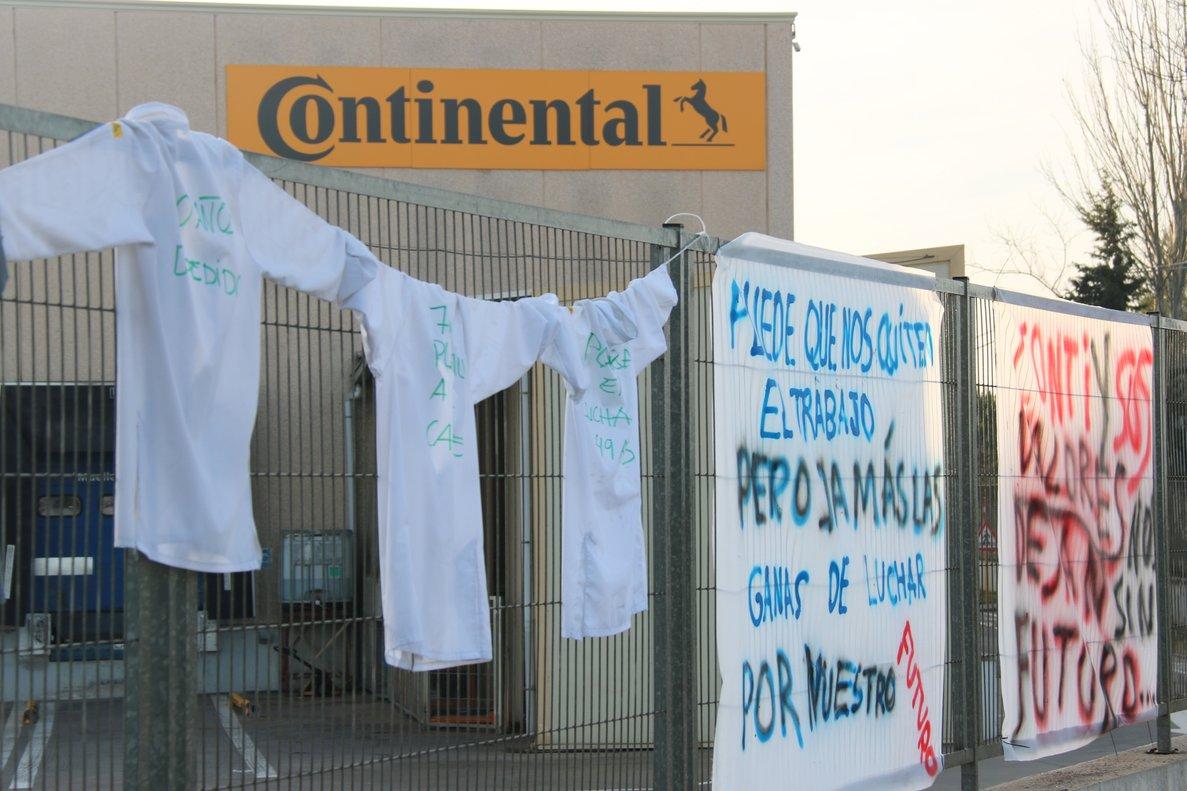 Continental espera tenir una solució per a la reindustrialització de les instal·lacions de Rubí en un mes