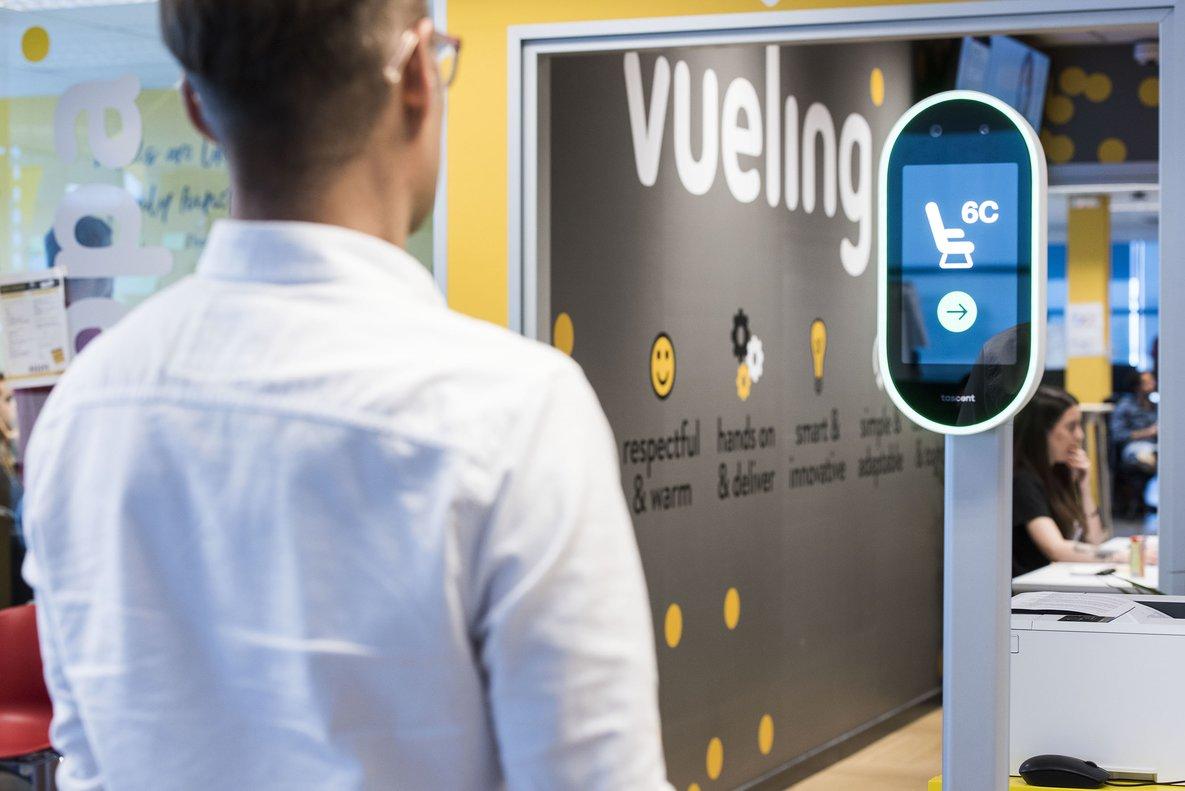 Vueling inverteix 30 milions en innovació tecnològica el 2019