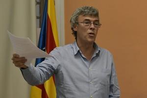 Francesc Teixidó, candidato de ERC a la alcaldia de Mataró.