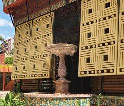 La fuente de Casa Vicens.
