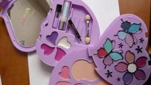 El maquillaje infantil retirado de las tiendas.