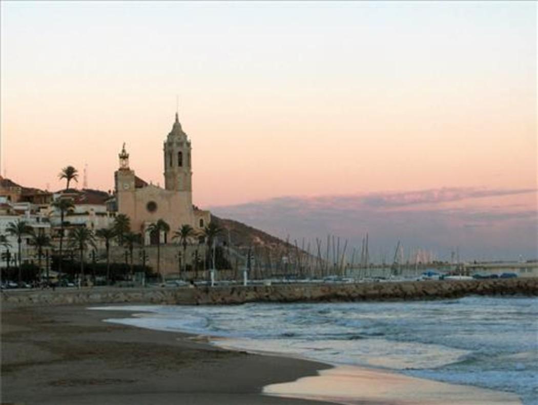 La iglesia de Sitges.