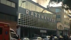Incendio en Razzmatazz.