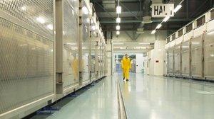 Instalaciones nucleares en la localidad de Fordow (Irán).