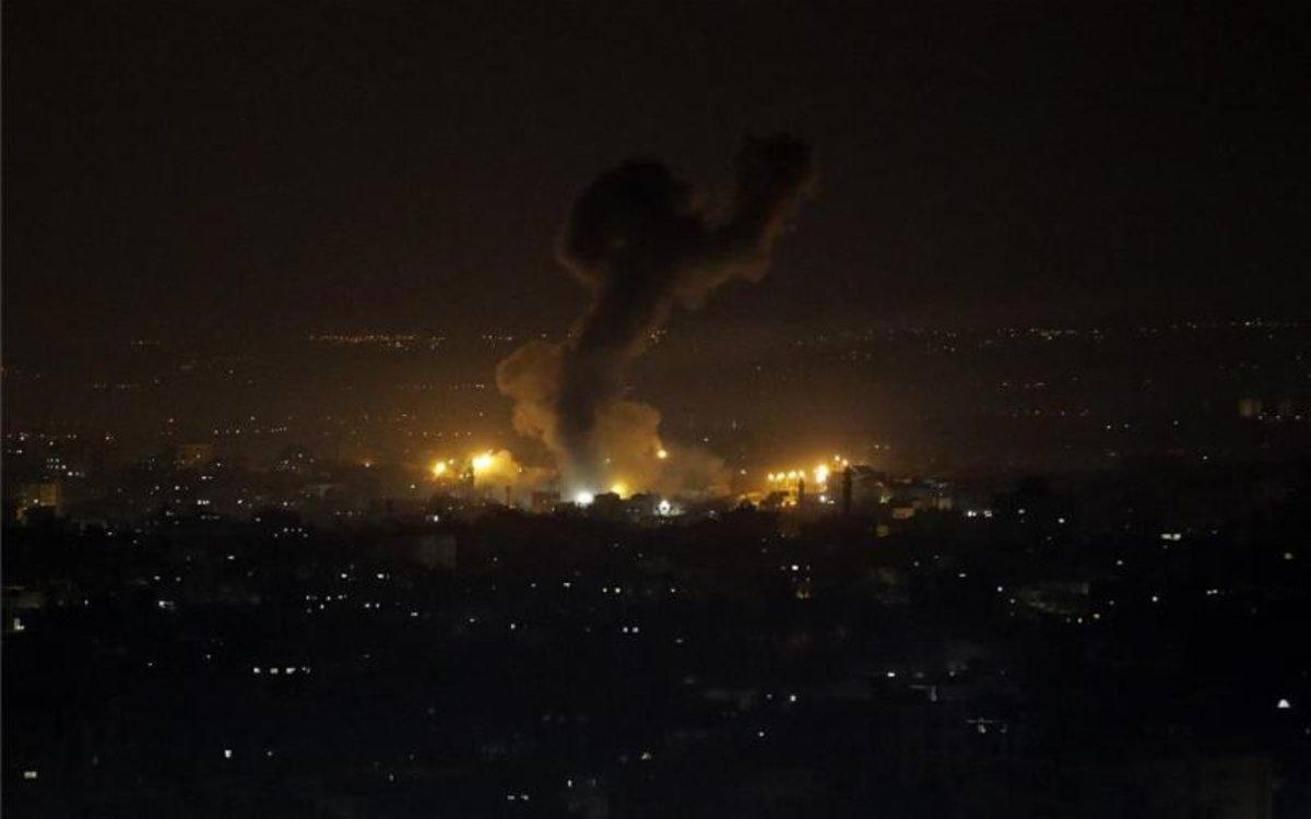 Bombardeos de Israel en la Franja de Gaza.
