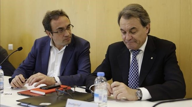 JosepRull y Artur Mas.