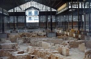 Restos históricos encontrados en el Born.