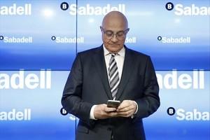Josep Oliu, presidente del Banc Sabadell.