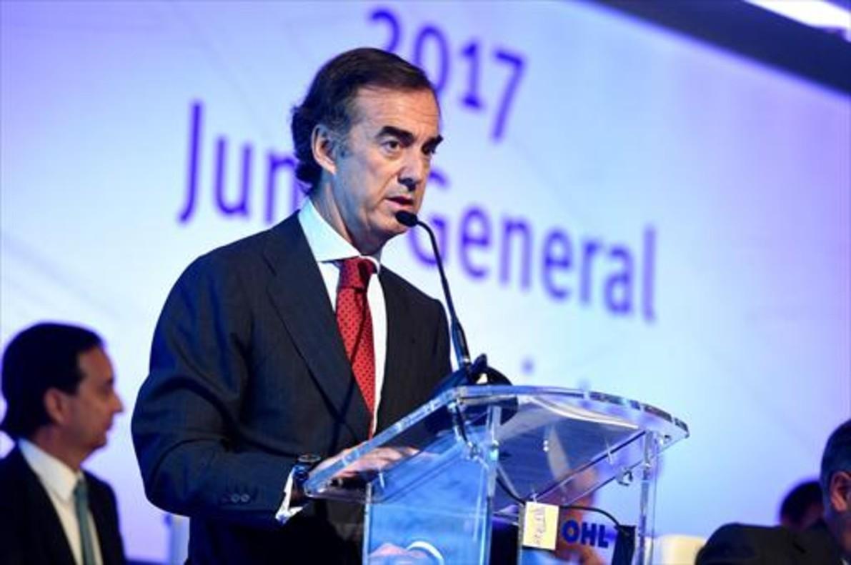 Junta de accionistas 8 Juan Villar Mir, presidente de la compañía.
