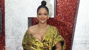 Rihanna, en en estreno europeo de 'Oceans'8' en Londres, el pasado verano.
