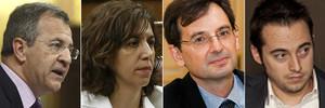 Álvaro Anchuelo, Irene Lozano, Rodrigo Tena y David Andina.