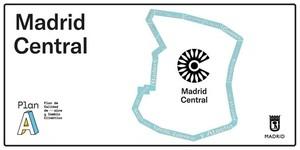 Comienza la instalación de las señales verticales de acceso a 'Madrid Central'