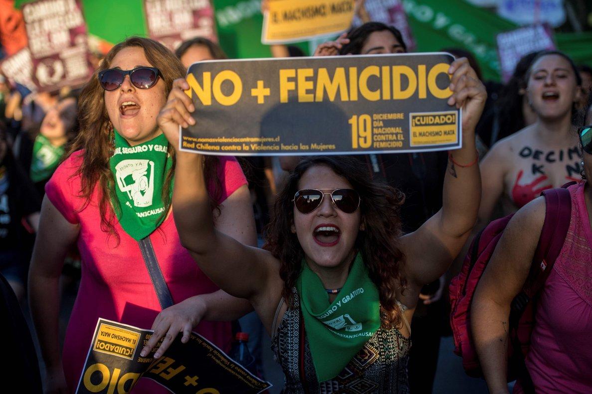 De acuerdo a la Red Chilena Contra la Violencia en lo que va transcurrido del 2018, 46 hombres han asesinado a 47 mujeres y niñas motivados por el odio machista.