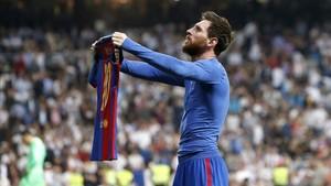 Messi, el terror del Bernabéu