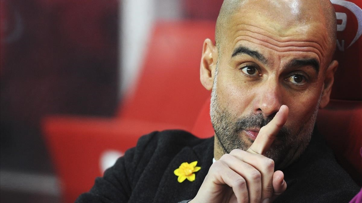 Guardiola exhibeix un nou símbol groc en una altra victòria del City (0-2)