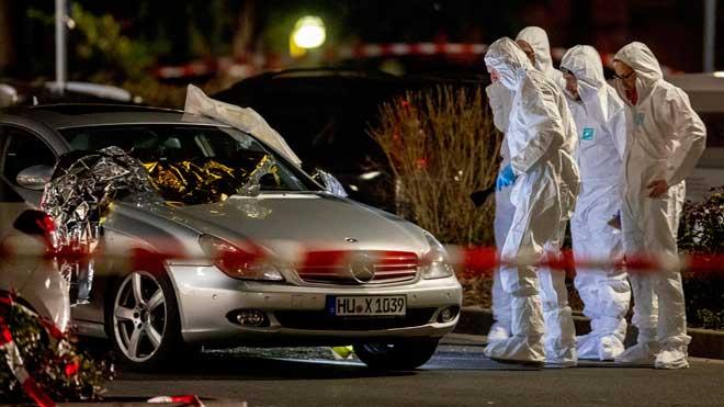 Ocho muertos en dos tiroteos en la ciudad alemana de Hanau.