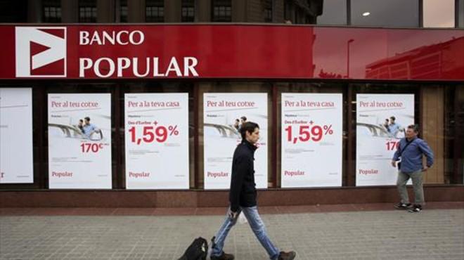 El 'arapaho' Águila Roja y la batalla del Banco Popular