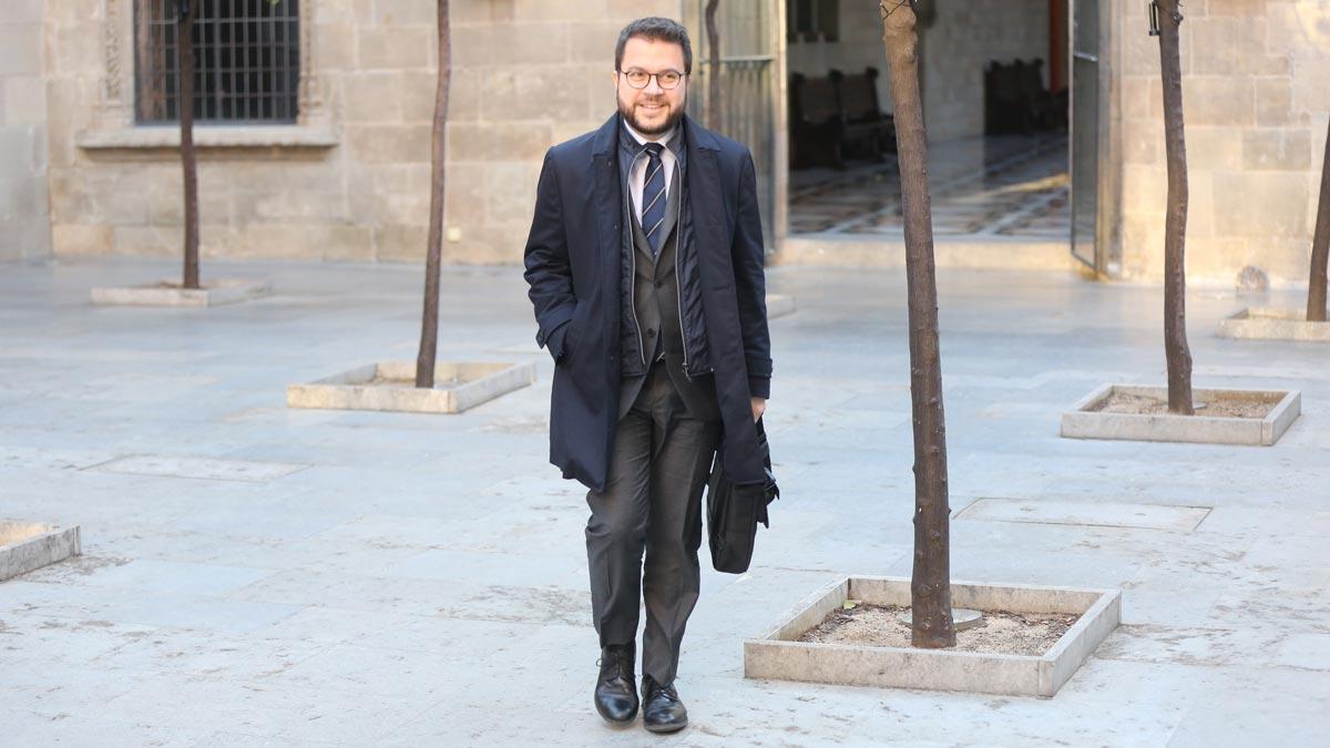 Pere Aragonés invita a Sánchez a crear mesa de negociación si quiere los Presupuestos.